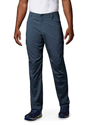 Columbia Men's Standard Silver Ridge Stretch Pants, Dark Mountain, 32 x 30