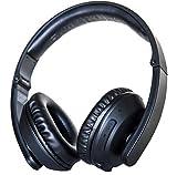 RIOT Project Bluetooth Wireless Over-Ear Headphones with Built-in-Mic, Deep Bass, Crisp Treble, Foldable, Lightweight, Workouts/Travel/Cellphone
