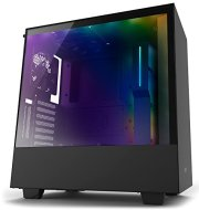 NZXT H500i - Compact ATX Mid-Tower PC Gaming Case - RGB Lighting and Fan Control - CAM-Powered Smart Device - Enhanced Cable Management System Water-Cooling Ready - Black - 2018 Model