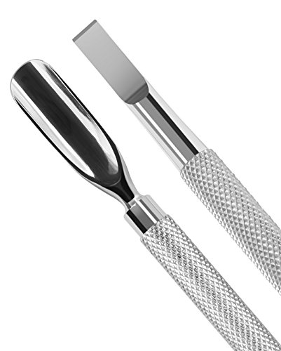 Utopia Care Cuticle Pusher and Spoon Nail Cleaner - Professional Grade Stainless Steel Cuticle Remover and Cutter… 2