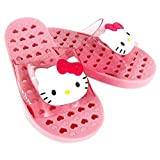 Hello Kitty Little Kids Bath Slippers Sandals Pink, Lengh 6.7 Inches