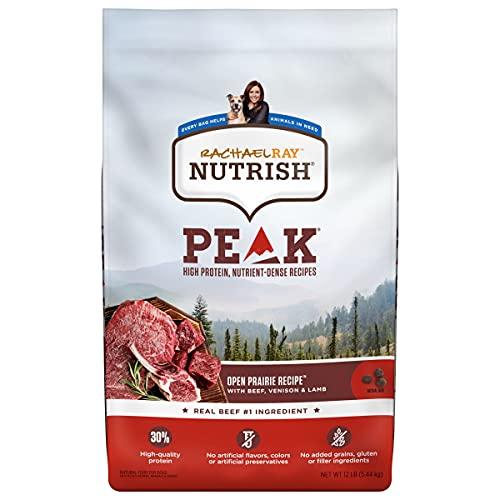 Rachael Ray Nutrish PEAK Natural Dry Dog Food,...
