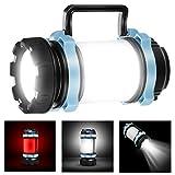 Homealexa 1000 Lumens Lanterne LED Rechargeable, Ultra Puissante, 4000mAh...