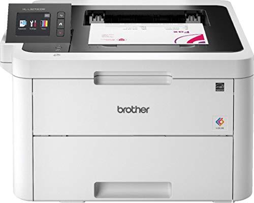 Brother HLL3270CDW Stampante a Colori LED, Velocit 24 ppm, Stampa Fronte/Retro Automatica, Rete...