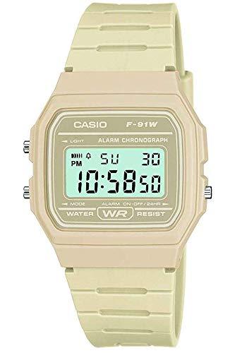 Casio Collection Herren-Armbanduhr F 91WC 4AEF
