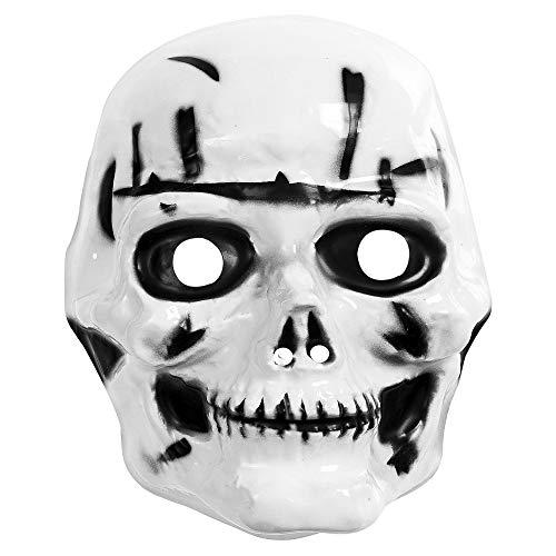 Widmann Masque tête de Mort 2663T, Taille Unique pour Enfant
