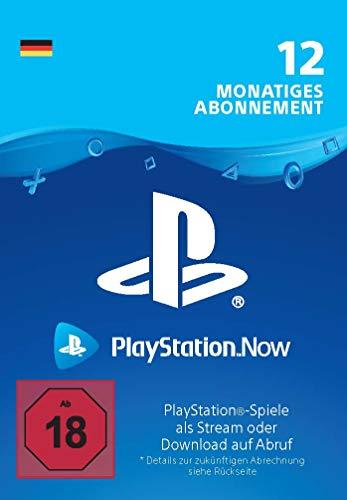 PlayStation Now - Abonnement 12 Monate (deutsches Konto) | PS5/PS4/PS3 Download Code - deutsches Konto