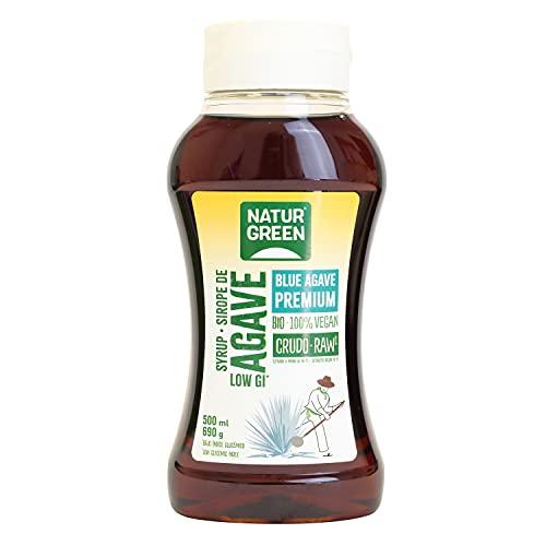 NaturGreen - Sirope Agave Crudo Bio, 500 ml