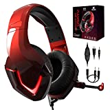 Casque Gamer PS4 avec Micro Over-Ear Audio Filaire Casque Gaming NEEDONE...