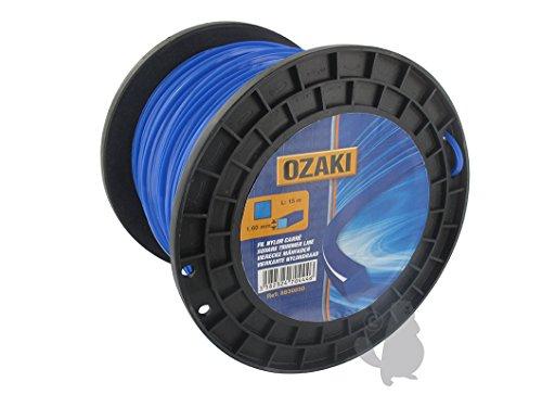Ozaki 15496 - Cinturino in nylon, sezione quadrata 30 mm, 4 mm di diametro