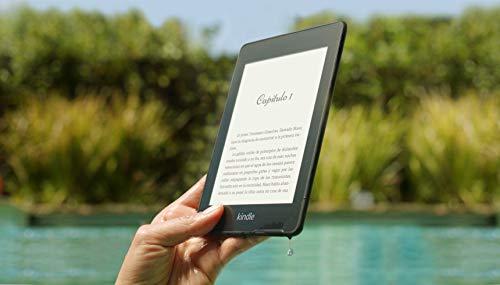 """Kindle Paperwhite - Resistente al agua, pantalla de alta resolución de 6"""", 8 GB, con publicidad"""