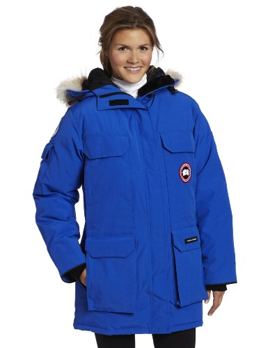 4116VY1c SL Mid-thigh length parka featuring adjustable tunnel hood with coyote-fur ruff and four front pockets Four fleece-lined, zippered handwarmer pockets hidden behind chest and lower pockets Concealed zipper placket