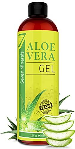 Organic Aloe Vera Gel with 100% Pure Aloe From...