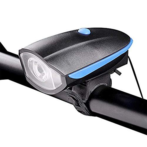 Lista Lista056 Rechargeable Bike Horn and Light 140 DB with Super Bright 250 Lumen Light
