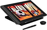 HUION KAMVAS Pro 13 Graphic Drawing Tablet with Screen Full-Laminated Drawing Monitor with Battery-Free Stylus Tilt 8192 Levels Pressure 4 Hot Keys Touch Bar-13.3 inch Pen Display with Stand