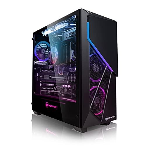 Megaport PC Gamer Goblin AMD Ryzen 5 5600X 6X 3,70 GHz • GeForce RTX3060Ti 8Go • Windows 10 • 16Go DDR4 • 500Go M.2 SSD • 2To • WiFi • USB3.0 Unité Centrale Ordinateur de Bureau