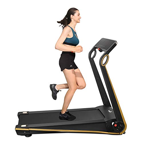 Fisup Foldable Smart Treadmill for Home Office Use Exercise Walking Jogging Silent with APP Installation Free 1