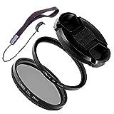 LUMOS Kit de filtres Starter 55mm (filtre polarisant et filtre anti-UV)...