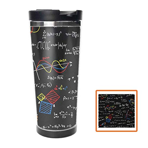 Funny Math Linear Equations Colorful Double Wall Travel...