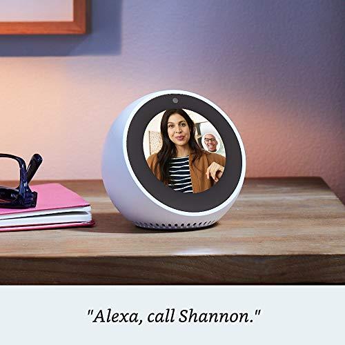 Product Image 5: Echo Spot - Smart Alarm Clock with Alexa - Black