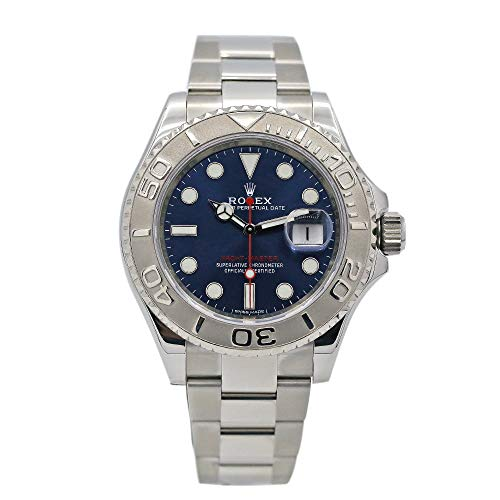 Rolex 16622 Oyster Perpetual Yacht-Master Steel with Platinum Mens Watch Silver Dial Oyster Perpetual Calendar Sapphire… 1