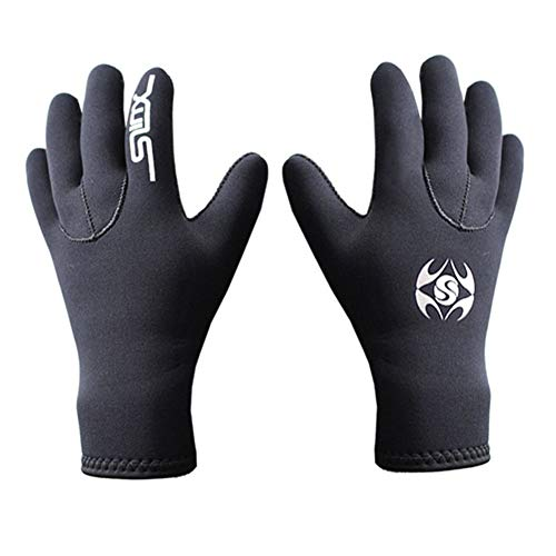 Kalaokei Unisex Taucherhandschuhe mit 5 Fingern warm M 1#