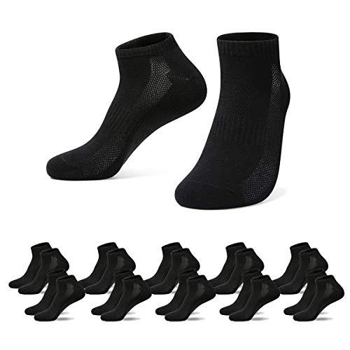Falechay Calzini Uomo Donna 10 Paia Cotone Sneaker Calze Corti Sportive