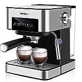 ELEHOT Cafetera Express Cafetera Espresso de Bomba Automática con Boquilla de Espuma de Leche...