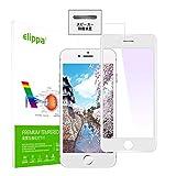 iPhone SE 第2世代ガラスフィルム アンチグレアElippa 炭素繊維 さらさら反射防止 iPhone SE 2……