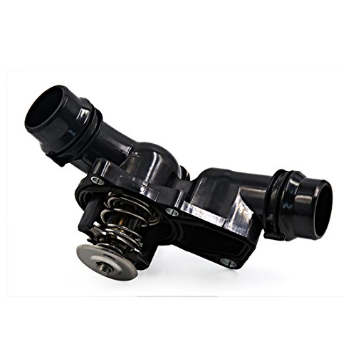 uxcell New Black Thermostat Housing Assembly W Sensor 11531437040 for BMW E39 530 E46 X5
