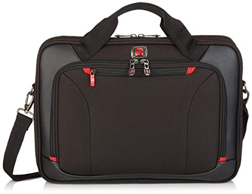 Victorinox Luggage Highwire 17' Deluxe Laptop Briefcase, Black, One Size