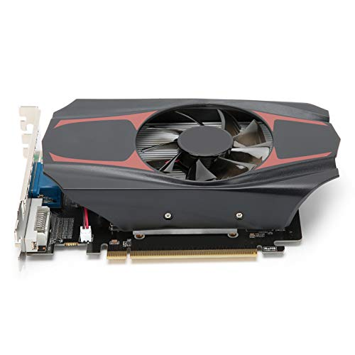 Dpofirs Scheda Grafica da Gioco Professionale HD7670 da 4 GB DDR5 a 128 Bit, Scheda di Memoria Video a Basso Rumore per AMD, frequenza Core 650 MHz, con Slot per Scheda Grafica PCI Express 3.0