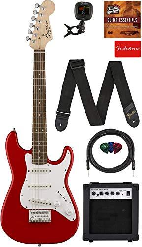 Fender Squier 3/4-Size Kids Mini Strat Electric Guitar