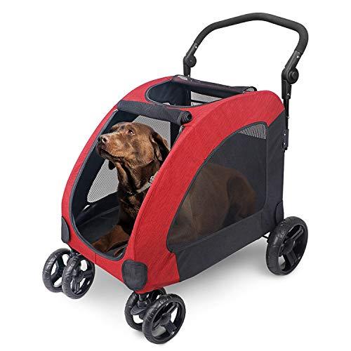 Wooce Pet Four-Wheeled Stroller