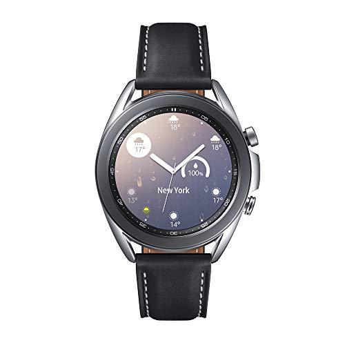 Samsung Galaxy Watch3 Smartwatch de 41mm I Bluetooth I Reloj inteligente Color Plata I Acero [Versión española]