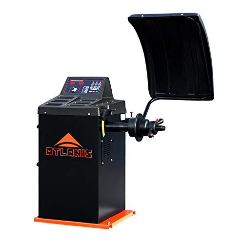 "ATLANIS Auswuchtmaschine Reifen Halbaut. 230V, 10-24\"" mit LED-Display - A-HA-2000-230V-V03"
