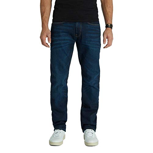 Kuyichi Herren Jeans Scott Regular Bio-Baumwolle, Classic Blue, 32/32