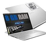 Asus Silver Ordinateur portable PC Écran FHD 15,6' CPU Intel i3-1005G1 3,4 GHz...