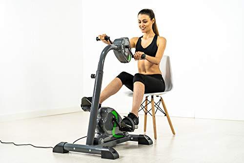 """ECO-DE Elektrominifahrrad. Elektrisches Mini Bike. 100{38603602569b2824a612940e56a1aaf1a20cd6a971fc81cbb3baf7f3dc49fddb} passiv. Für Beine und Arme. DUAL Training. """"2 in 1""""."""