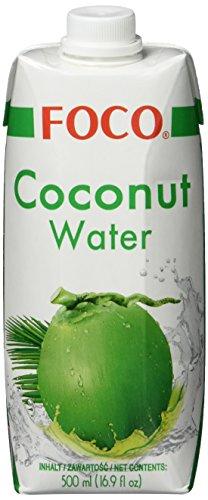 FOCO Kokosnusswasser, exotisches Trendgetränk,...