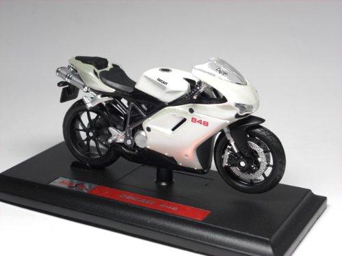 Ducati 848 バイク模型 1/18 ドゥカティ 848 オートバイ