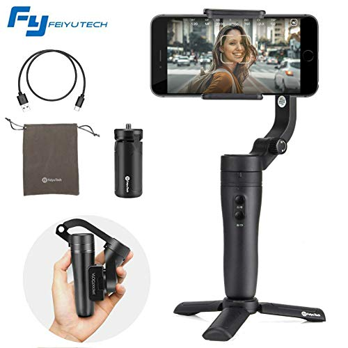 FeiyuTech Vlog Pocket 3-Axis Foldable Gimbal Stabilizer
