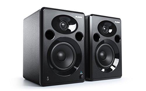 Alesis Elevate 5 MKII |80 W Powered Desktop Studio or Gaming Speakers (Black)