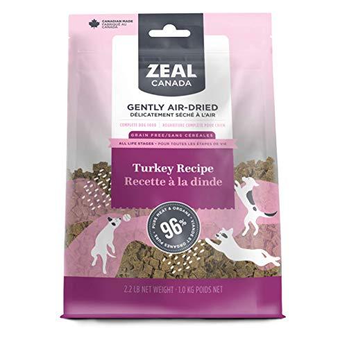 Zeal Canada air-Dried Dog Food Turkey Recipe
