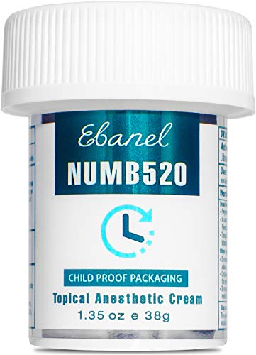 Ebanel 5% Lidocaine Topical Numbing Cream Maximum...
