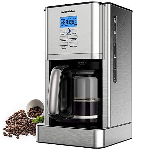 Macchina Caffe,Bonsenkitchen Macchina Caffe Americano 1000Watt,Caffettiera Americana Digitale...