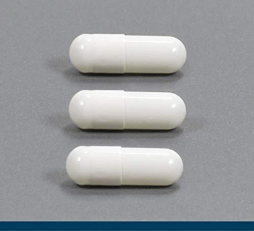 200 Capsule vuote gastroresistenti vegan HPMC dimensione 0 vegan - qualità UE - si sciolgono solo nell'intestino tenue