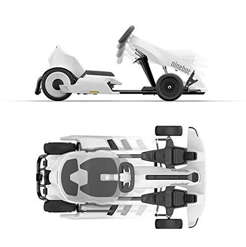 Ninebot eléctrico GoKart Drift Kit, al Aire Libre Corredor del Coche del Pedal, Correpasillos Go Kart Hoverboard Accesorios Asiento de unión Ajustable para Todas Las Edades