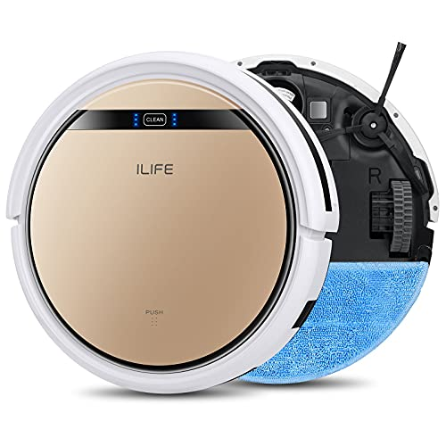 ILIFE V5s Pro, 2-in-1 Robot Vacuum and Mop, Slim, Automatic Self-Charging