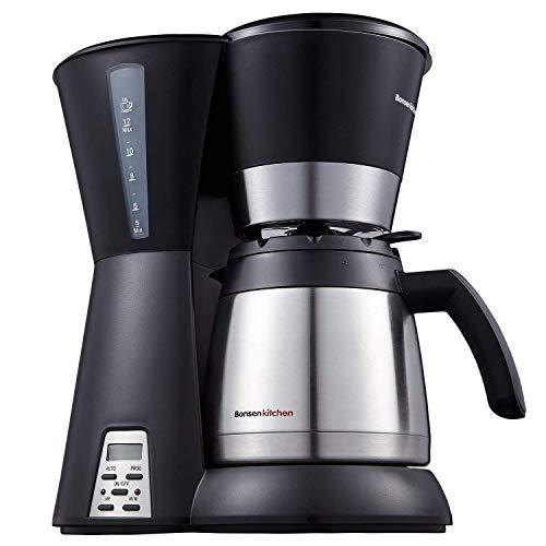 Caffettiera Macchina per caffè Macchina Caffè Americano temporizzata programmabile da 10 tazze...